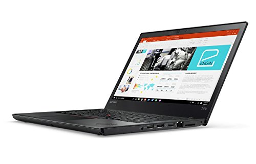 Lenovo Thinkpad T470 Laptop (Windows 10 Pro, 8GB RAM, 256GB HDD) Black Price in India