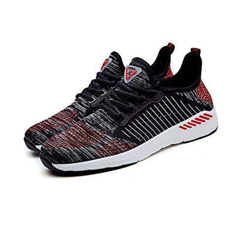ECSD Männer Und Frauen Flyknit Sport Casual Schuhe Laufschuhe Liebhaber Schuhe Tennis (Farbe : 04, größe : EU39/UK6/CN39) (Größe 1-tennis-schuhe)