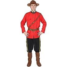 Disfraz de Policía Montada Canadiense para hombre