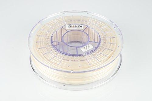 Filamento FiloAlfa 2.85mm PLA BIANCO PERLA 700g