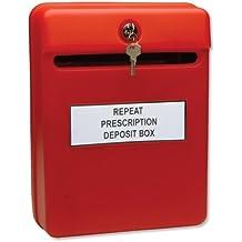 Helix - Buzón de sugerencias (uso interior), color rojo