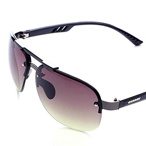 Luckiests Man Jungen-Fischen Brillen Sunblock Randlos Sonnenbrille freie Objektiv-Sun-Glas-HD Visuelle Brillen Shades