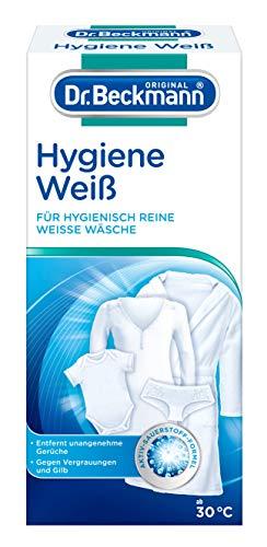 Dr. Beckmann Wäsche Hygiene Weiß | Für Hygienisch Reine & Strahlend Weiße Wäsche (500 G)