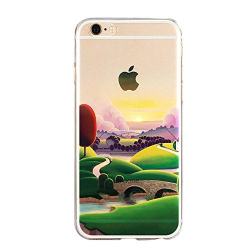Vandot iPhone 5 5S SE Coque Etui iPhone 5 5S SE Housse Case Cover pour iPhone 5 5S SE TPU Souple Silicone Hull avec Bling Crystal Oreilles Shell Pleine Effacer Clair transparent Portefeuille + Fashion Design 7