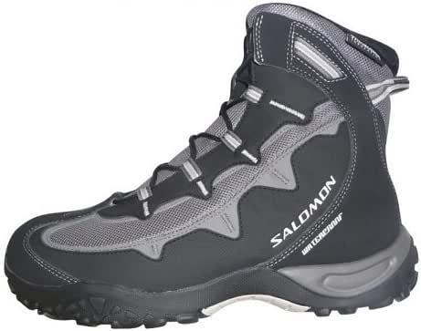 Salomon stenson ts wp w noir gris femme chaussure randonnée