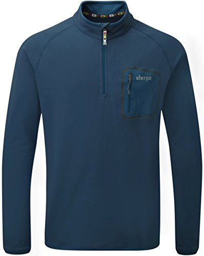 Sherpa Adventure Gear Men's Tsepun Zip T-Shirt