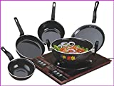 kitchentop Perfect Collections Set of 5 Pcs Induction Base Induction Bottom Cookware Set