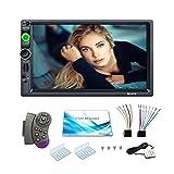 ZSLGOGO Autoradio Android 2din, Car Multimedia, Autoradio DC12V avec Bluetooth, Moniteur LCD Tactile 7 Pouces HD, Radio AM/FM avec...