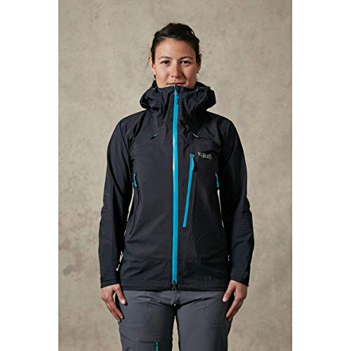 RAB WOMENS FIREWALL JACKET BLACK (UK SIZE 10)
