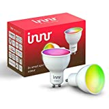 Innr GU10 ampoule LED connectée Couleur, fonctionne avec Philips Hue*, Alexa, Google Home (pont connecté requis) 16 millions de couleurs, RS 230C-2