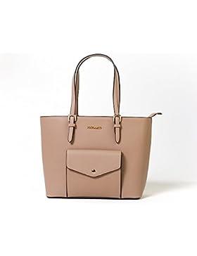 FLORA & CO | Damenhandtasche Jacky | RON & ÈVE | Elegant Shopper-Tasche Schultertasche Handtasche Umhängetasche