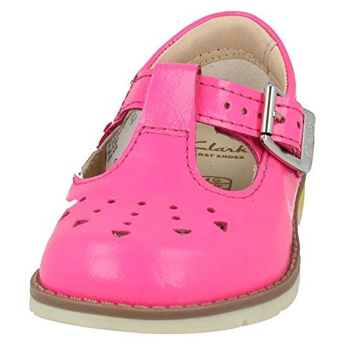 Clarks , sandales fille Rose verni
