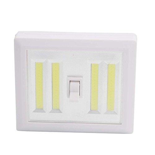 Multifunktionale Nachtlicht Wandleuchte High Power Notfall Arbeitslicht Innenbeleuchtung Schalter Licht (2 Packs)