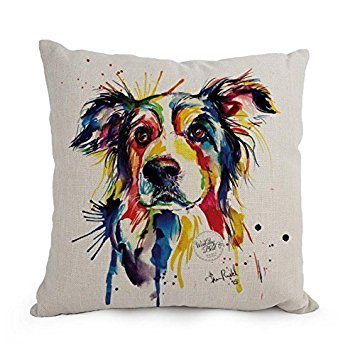 Saisons Inc Costume - Uloveme 45,7 x 45,7 cm/45 par 45 cm Dog Art aquarelle
