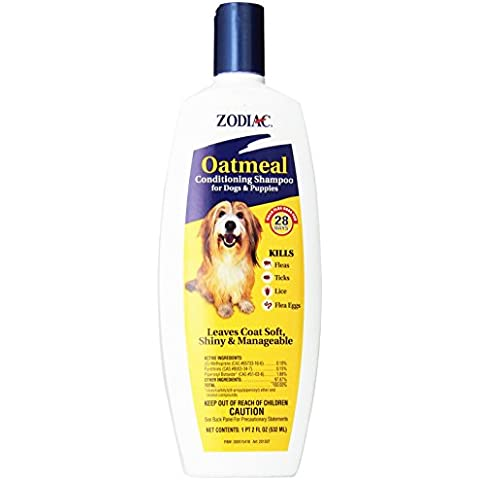 Zodiac Oatmeal Conditioning Shampoo 18 Oz