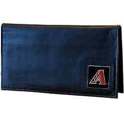 MLB Arizona Diamondbacks Deluxe Leather Checkbook Cover