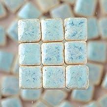 MosaicMicros 5 x 5 x 3 mm 10 g (Azulejos de Mosaico de cerámica esmaltado