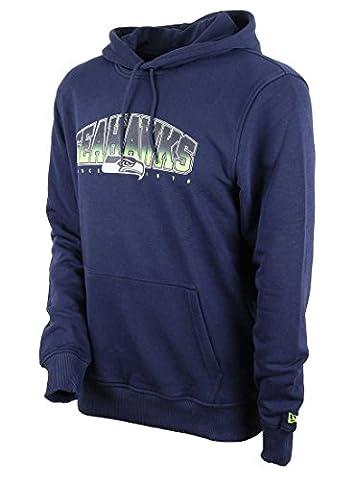 New Era Men Overwear / Hoodie NFL Fan Seattle Seahawks blue XL