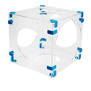 Amscan International Amscan B703 - Globo hinchable, diseño de cubo, color blanco