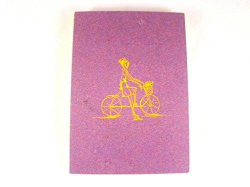 sarvam handgefertigt Papier mit Hardcover Pocket Notizbuch 100Seiten handgefertigt Pocket Tagebuch mit Hand Bindung Größe 10,8x 14,6cm