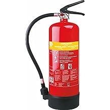Extintor de incendios Smartwares SB6NL – Espuma– 6kg – Clase incendio AB – Incluye soporte de montaje