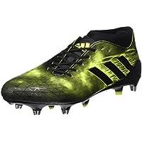 adidas adizero Malice SG - Botas de rugby para Hombre, Negro - (NEGBAS/NEGBAS/NEGBAS) 46