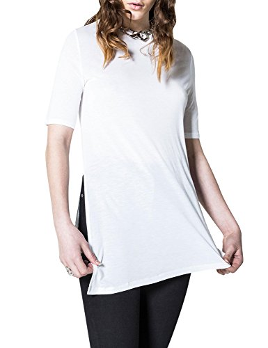 cheap-monday-womens-release-womens-off-white-top-in-size-m-off-white