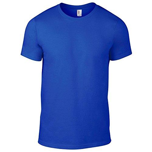 AnvilHerren T-Shirt Neonblau