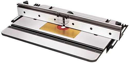 MLCS 9580Phenolharz-Router Tisch Top, X1Zaun und Aluminium Einsatz Teller