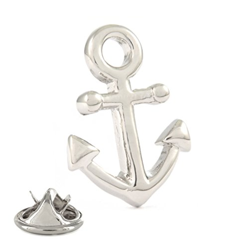 Schiffe Anker Metall-Pin Badge