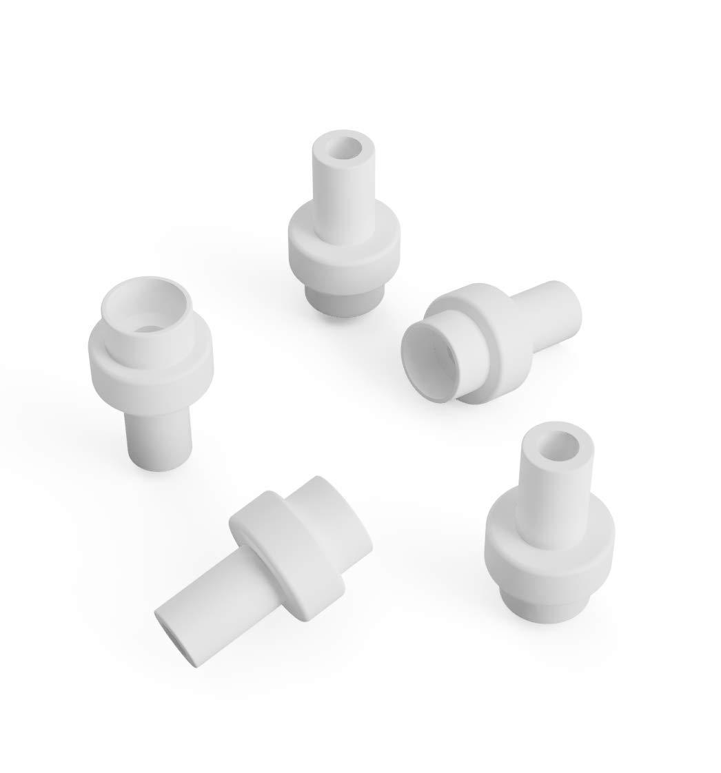 3DreamsDesign Lot de 5Ultimaker 2PTFE téflon électriques 3,00mm Convient également pour Ultimaker 2+ et Ultimaker 2+ Extended