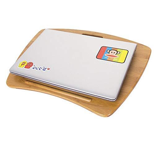 Zhuozi FUFU Tische Laptop-Lap-Tray-Schreibtisch-Spielraum-bewegliche Studenten-Behälter, die für das Schreiben des Schreibens auf Bett-Couch-weicher Handgelenk-Rest groß sind Drop-Blatt-Tabelle -