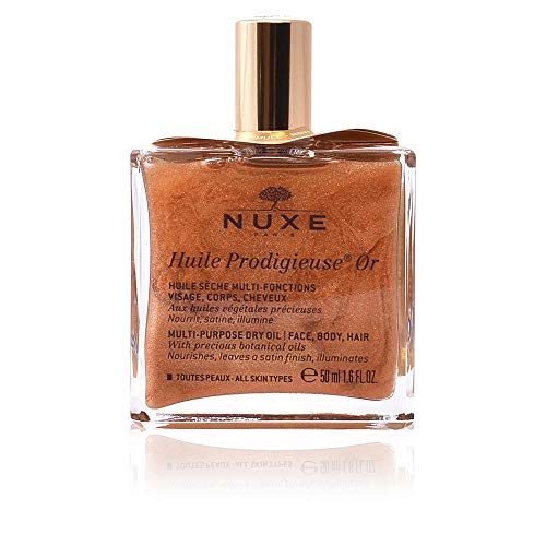 Nuxe Huile Prodigieuse Or Golden Dry Oil 50ml Splash - Schimmernde Öl