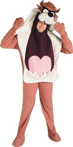 Taz-Kostüm aus den Looney Toons für Erwachsene (Looney Toons Kostüme)