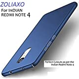 Redmi Note 4 Back cover ...,,, ZOLIAXO - XIAOMI REDMI Note 4 / REDMI Note 4 / Note 4 / MI Note 4 / Redmi Note 4 [NEW 2017 MODEL) - ROYAL BLUE All Side
