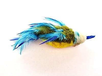 Purrs Bluetit Bird attachment- Fits PurrSuit, Frenzy & DaBird wand Cat Toys