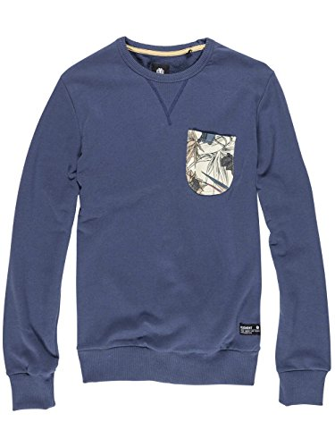Element Willis Sweatshirt (dark denim) Dark Denim