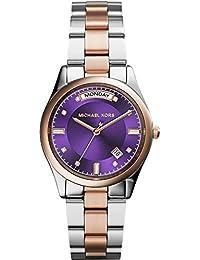 Michael Kors MK6072 - Reloj de pulsera para Mujer, morado / multicolor