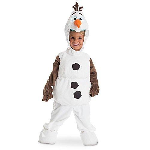 Disney store costume in peluche olaf pupazzo di neve frozen - il regno di ghiaccio originale bimbo bambino bambina bimba unisex 4 anni