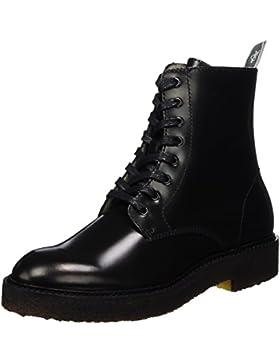 Marc O'Polo Damen Lace Flat Heel Bootie 70814266301112 Combat Boots