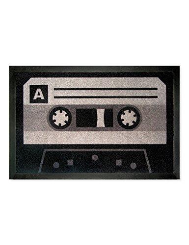 tte schwarz grau (Kassetten-fußmatte)