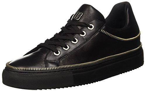 Bikkembergs Doll-Er Db 798 Shoe W Leather, Scarpe Low-Top Donna, Nero, 38 EU
