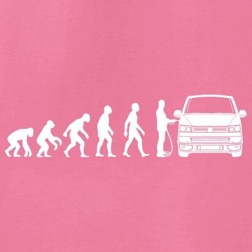 Evolution of Man VW T5 - Damen T-Shirt - 14 Farben Azalee