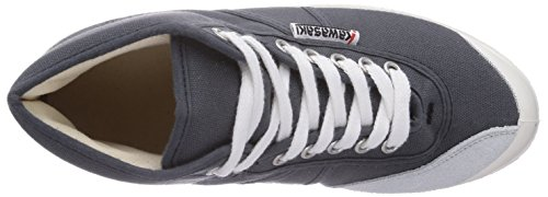 Kawasaki  Rainbow basic, Baskets hautes mixte adulte Gris - Grau (Dark grey/64401)