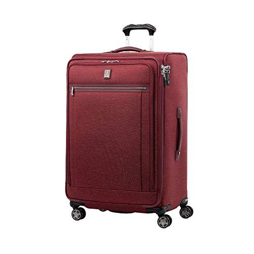 Travelpro Platinum Elite Valigia Extra Large Morbida 4 Ruote Direzionali 83x53x34 cm, Estensibile e Durevole, con Chiusura Tsa, 144 Litri, Bagaglio Viaggio, Garanzia 10 Anni