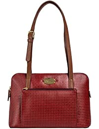 Hidesign leather Women's Handbag NYLE 2 (Red)