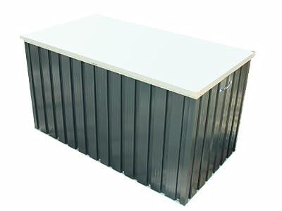 Tepro Metall-Gerätebox 135x70 anthrazit / weiß