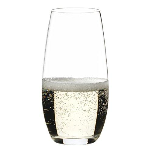 RIEDEL Champagnerglas-Set, 2-teilig, Für Champagner und Sekt, 264 ml, Kristallglas, O Wine Tumbler, 0414/28