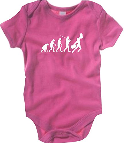 Krokodil Baby Body Evolution Cheerleader,Cheerleading,Kostüm,Fun,Sport,Tanz Farbe pink, Größe 6-12 - Evolution Of Dance Kostüm