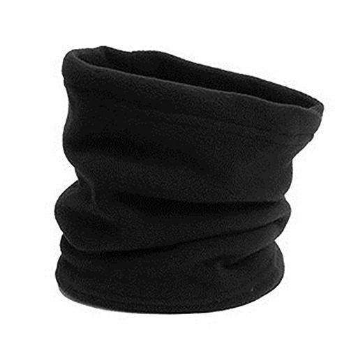 Osmanthusfrag, scaldacollo invernale per il viso, sciarpa termica, berretto, per lo sport, regalo unisex, nero